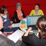 Arbeit in Redaktionsteams