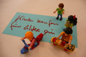 Zukunftswerkstatt, Playmobil, Kreative Beteiligung